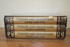Pagans and Christians - Robin Lane Fox - New 3 Vol Set - Folio Society 2010 (CS)