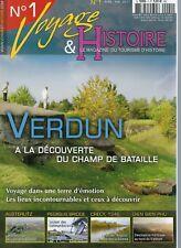 revue voyage & histoire : le magazine du tourisme d'histoire : les 5 numéros