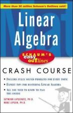 Schaum's Easy Outline of Linear Algebra by Seymour Lipschutz and Marc Lipson...