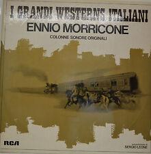 "ENNIO MORRICONE - I GRANDI FILM WESTERN ITALIANI 12"" 2 LP (T 6)"