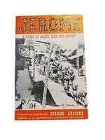 Vintage 1950s Jerome Mines Money Arizona Tourism Booklet Monuments Association