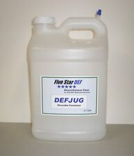 TWO Pack of 2.7 Gallon Reusable Diesel Exhaust Fluid DEFJUG with DEFSPOUT
