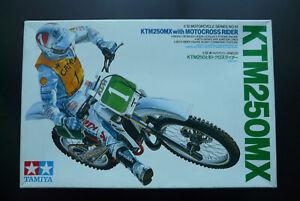 Maquette moto TAMIYA KTM 250 MX 1/12eme