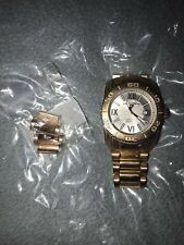 Swiss Legend Men's Gold-toned Stainless Steel Chronograph Watch (w/ Extra Links)