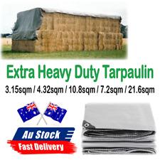 Heavy Duty Tarp Waterproof Rain Shed Tarpaulin Cover Tent Ground Sheet