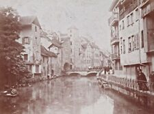 Annecy Street Scene Snapshot Instantaneous Photo 1900