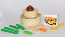 Vintage Fisher Price Fun With Food Cake Lot