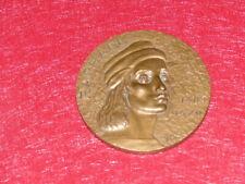MEDAILLE BRONZE Graveur à identifier / RAPHAEL 1977 Rare Art Renaissance Sixtine
