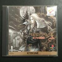 USED PlayStation PS Akumajo Dracula X Symphony of the Night CASTLEVANIA JAPAN