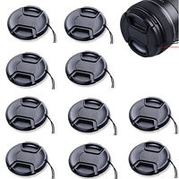 10pcs 62mm Center Snap On Lens Cap For Nikon Canon Pentax Sony Camera DSLR new