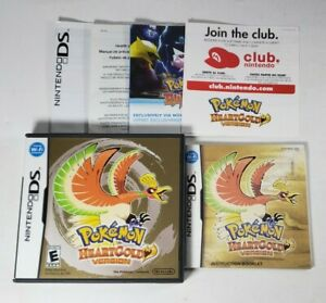 Pokemon Heartgold Nintendo DS Case and Manual ONLY, NO GAME Authentic