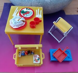 Vintage Sindy Doll Picnic Set 1977 Accessories incomplete