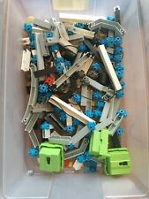 Vintage Fisher Price Construx Lot with Power Pack and Cord Wheels Axles Domes