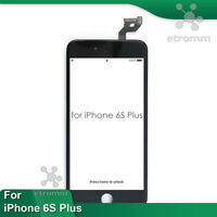 iPhone 6S Plus LCD Display Touch Screen Digitizer Frame Replacement A1634 Black