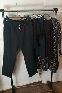 Womens Ladies Clothes Bundle Size 16 Mini Dress Blouse Shirt Bodysuit Pants W7