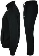 Adidas Tracksuits Men's Boy's Woven Suit Sports Suit Tracksuit Black Original UK