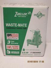 ZOELLER 267-0001 M267 Sewage Effluent Dewatering Pump 0.5HP 115V 1PH-NIB F/SHIP!