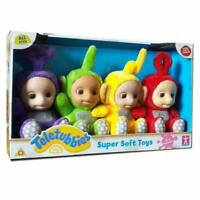 Teletubbies Collectable Super Soft Plush Toys Full Set of 4 Dolls Teletubby