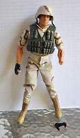 Hasbro GI joe Desert Army 1/6 no gun broken hand (included) loose