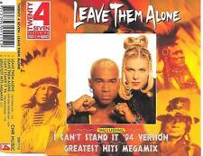TWENTY 4 SEVEN - Leave them alone + MEGAMIX CDM 4TR Eurodance 1994 (CNR) Holland