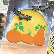 Halloween Pumpkin Cutting Dies Stencil Scrapbooking Card Decor DIY Party Craft