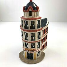 Department 56 Christmas in the City Cafe The Tower Restaurant #65129 1987 Vtg 9C