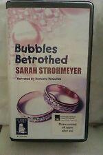 Bubbles Betrothed by Sarah Strohmeyer: Unabridged Cassette Audiobook (HH5)
