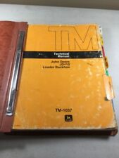 John Deere JD410 Loader Backhoe Technical (Service) Manual
