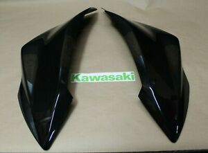 Kawasaki KFX450R Rear Fenders Black 08-14 FENDER SKIRTS left / right STOCK OEM