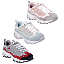 Skechers D'Lites Sure Thing Chunky Platform Memory Foam Fashion Trainers UK 4-7