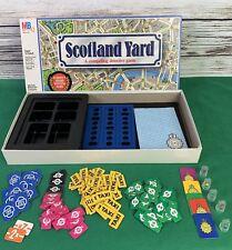 Scotland Yard Game Milton Bradley 1985 Detective Vintage