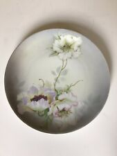 German Floral Plate 11 Inches