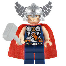 Lego Custom Assembled Minifigure - Thor with Accessories (A44)