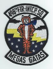 "60's 498th FIGHTER INTERCEPTOR SQUADRON ""MEGAS GATAS""  patch"