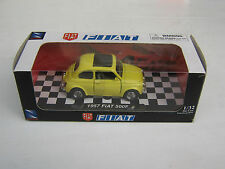 MODELLINO: 1957 FIAT 500 F - CITYCRUISER COLLECTION - SCALA 1/32 - LEGGI