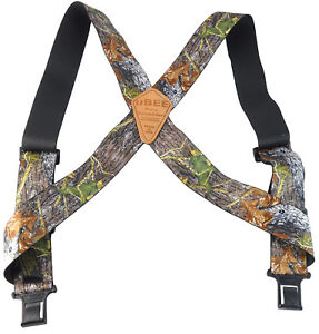 New Perry Mens Elastic Hook End Camouflage uBEE Outback Suspenders (Reg & Tall)