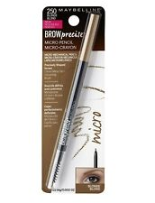 Maybelline Brow Precise Micro Eyebrow Pencil Makeup-choose your color