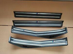 BMW E46 M ZHP SEDAN Door Sill Tread Plates Scuff Plates OEM