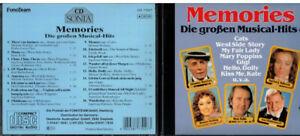 CD, Memories, die großen Musical Hits