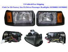 US Club Car DS Factory Size Fit Driver/Passenger Headlights 101988001/101988002