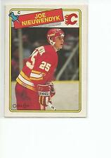 JOE NIEUWENDYK 1988-89 OPC O-Pee-Chee Hockey ROOKIE card #16 Calgary Flames NM