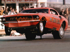 "Gaspar ""Gas"" Ronda 1969 Ford Mustang NITRO Funny Car PHOTO! #(9)"