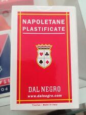 DAL NEGRO Carte Napoletane 82 Plastifcate triplex vecchia produzione introvabili