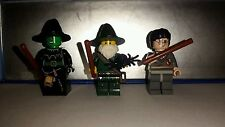 Lego wizardry and witchcraft minifigures set