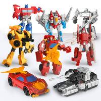 Mini 5inch Megatron Starscream Bumblebee Action Figure Deformabl Robot Kids Toy