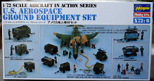 US Aerospace Ground Equipment Flugzeug Deck Mannschaft 1:72 Hasegawa 35006