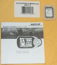 NEW Magellan RoadMate GPS 300 300R Map Update One (1) SD Card - EASTERN US usa