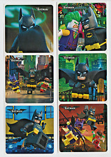 "25 Batman Lego Movie Stickers, 2.5"" x 2.5"" each, Party Favors"