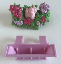 Fisher Price Loving Family Twin Time Dollhouse Replacement Window Box and Flower