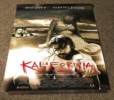 "KALIFORNIA - 1993 ORIGINAL ROLLED 27"" X 40"" FILM POSTER - BRAD PITT / J. LEWIS"